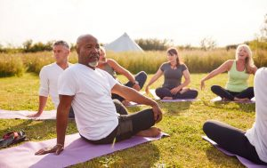 group doing yoga | MyPowerLife