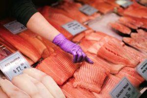 salmon fish market | Power Life