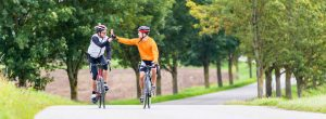 fitness-bikers-high-five | My Power Life