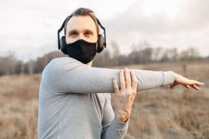 exercise outdoors with mask | My Power Life