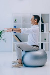 exercise ball   My Power Life