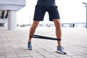 resistance band leg workout | My Power Life