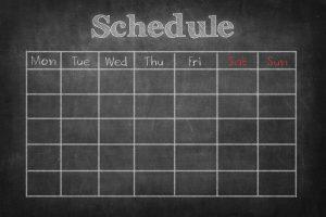 schedule-health-planning