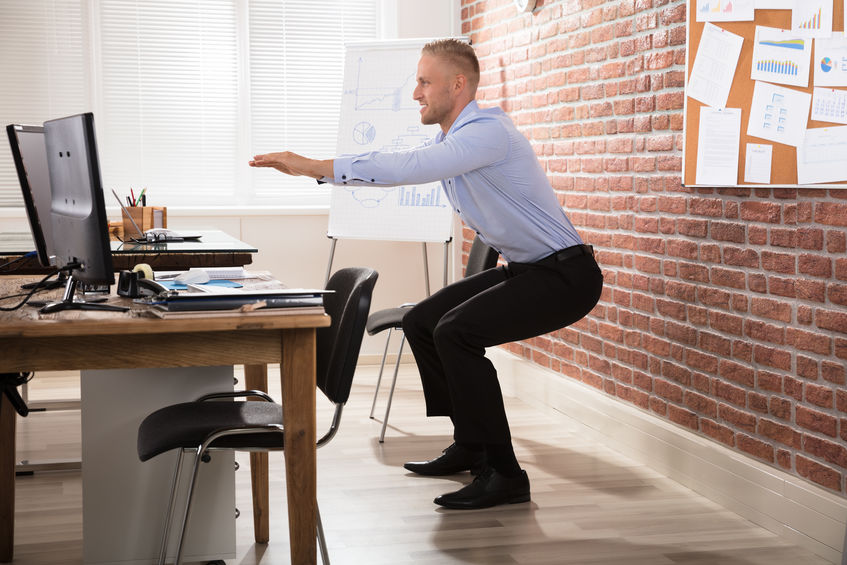 Simple And Effective Exercises To Do At Your Desk